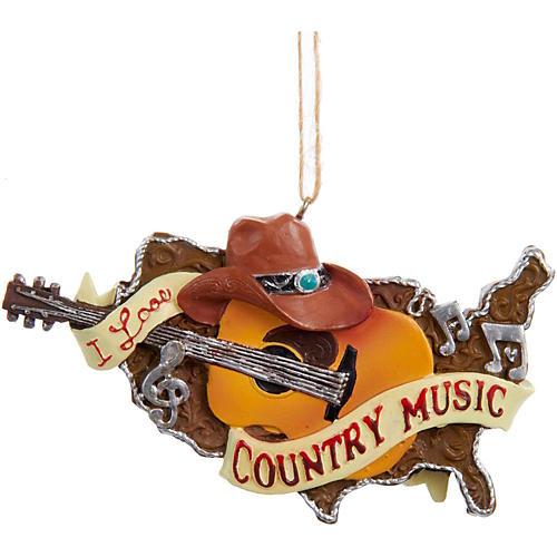 Kurt S. Adler Country Music Guitar Ornament