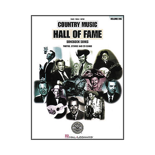 Hal Leonard Country Music Hall Of Fame Volume 1 Piano/Vocal/Guitar Songbook-thumbnail