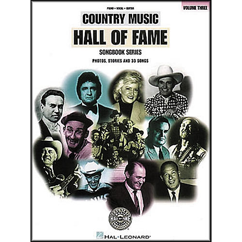 Hal Leonard Country Music Hall Of Fame Volume 3 Piano, Vocal, Guitar Songbook