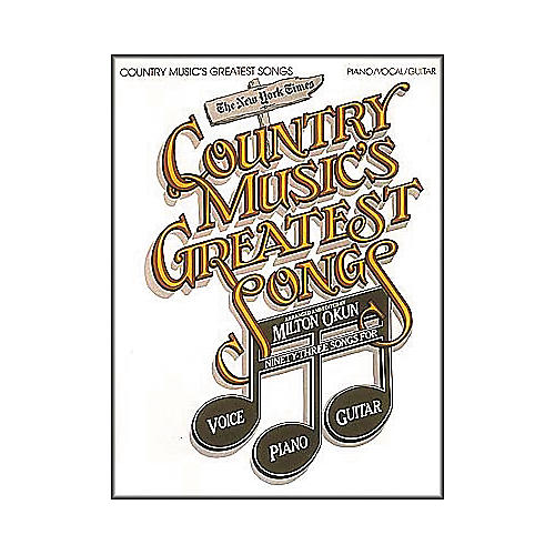 Cherry Lane Country Music's Greatest Songs Book-thumbnail