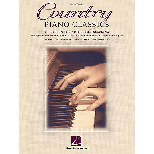 Hal Leonard Country Piano Classics - 21 Solos in Slip-Note Style-thumbnail