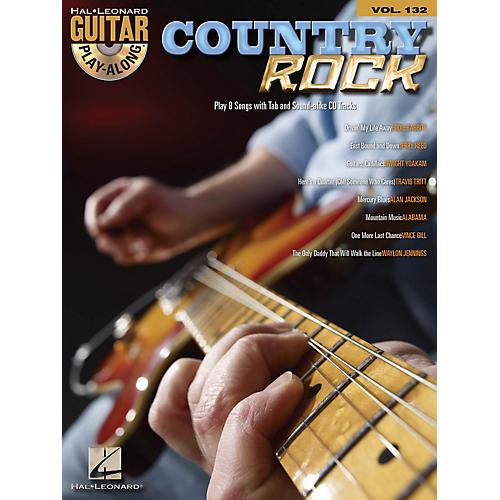 Hal Leonard Country Rock - Guitar Play-Along Volume 132 Book/CD-thumbnail
