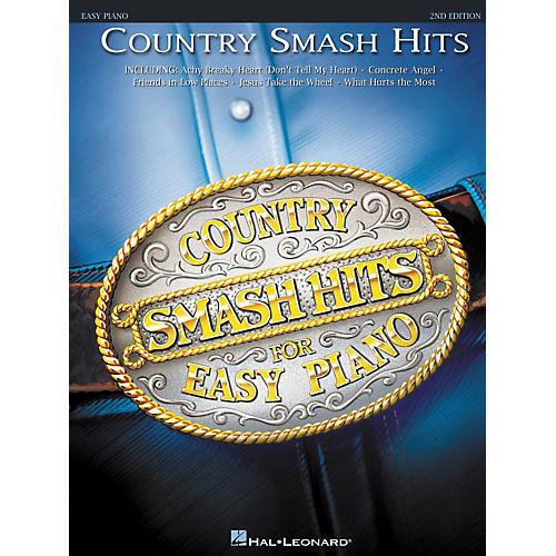 Hal Leonard Country Smash Hits For Easy Piano 2nd Edition-thumbnail