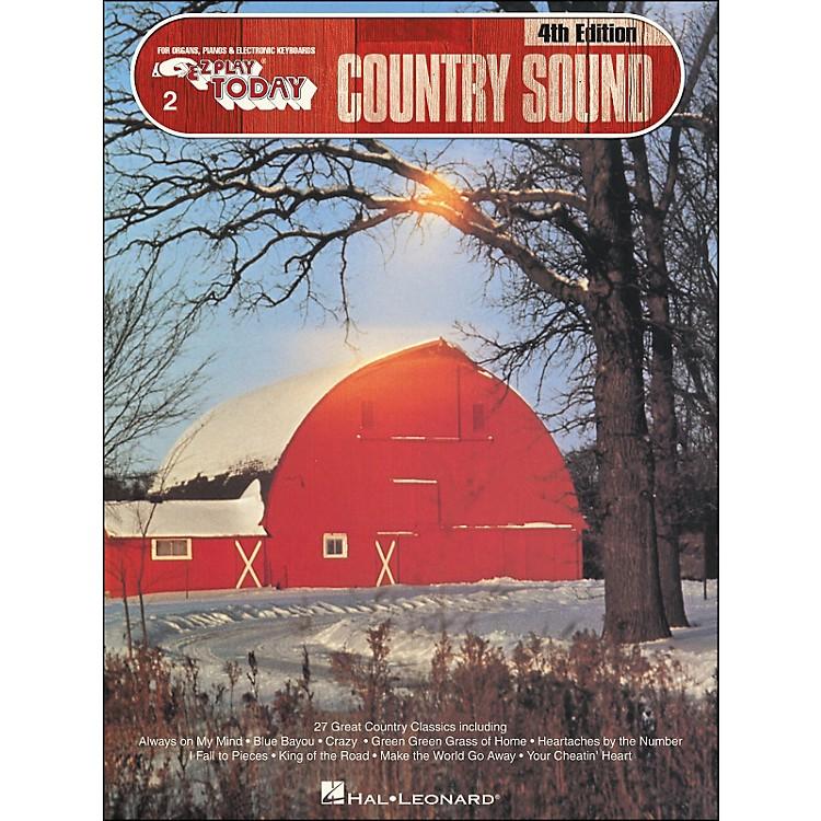 Hal LeonardCountry Sound 4th Edition E-Z Play 2
