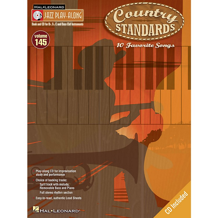 Hal LeonardCountry Standards - Jazz Play-Along Volume 145 Book/CD