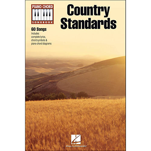 Hal Leonard Country Standards - Piano Chord Songbook-thumbnail