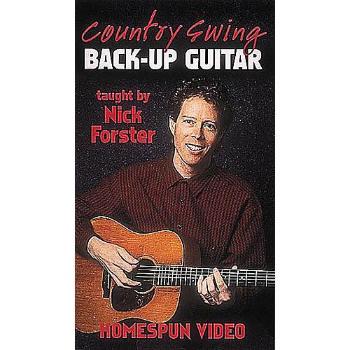 Homespun Country Swing Back-Up Guitar (VHS)-thumbnail