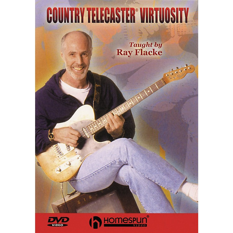 Homespun Country Telecaster Virtuosity (DVD)