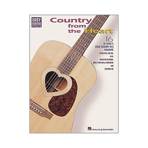Hal Leonard Country from the Heart Easy Guitar Book-thumbnail