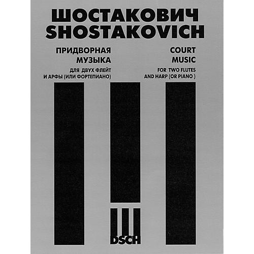 DSCH Court Music, Op. 137, No. 58 (Two Flutes and Harp (or Piano)) DSCH Series Composed by Dmitri Shostakovich-thumbnail