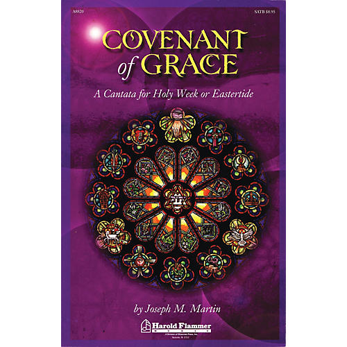 Shawnee Press Covenant of Grace (A Cantata for Holy Week or Easter SATB) SATB composed by Joseph Martin-thumbnail