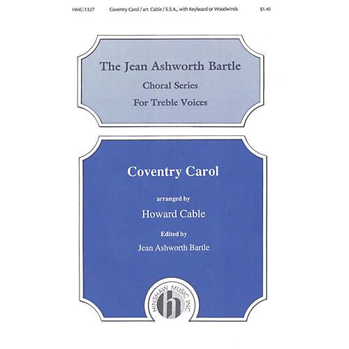 Hinshaw Music Coventry Carol SSA arranged by Howard Cable-thumbnail