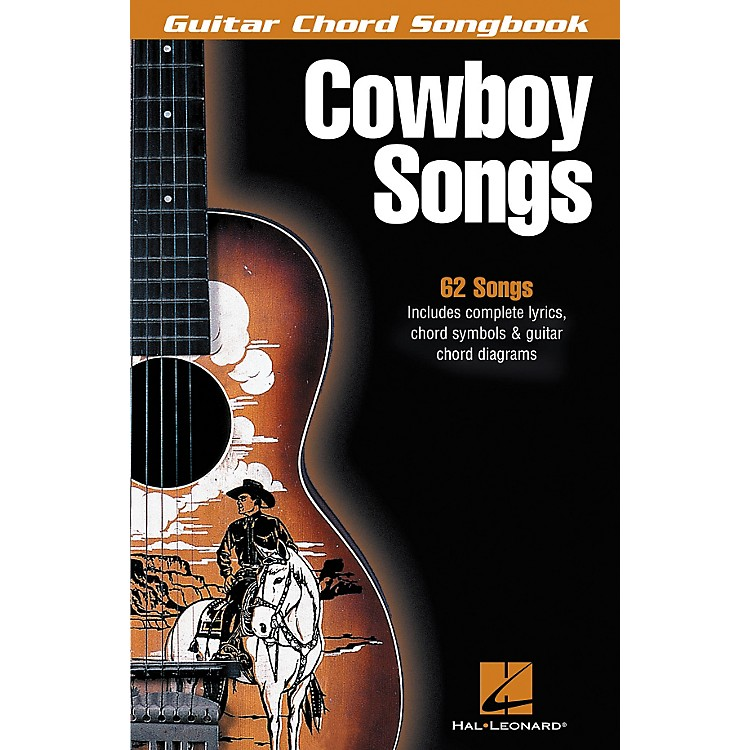 Hal LeonardCowboy Songs Guitar Chord Songbook
