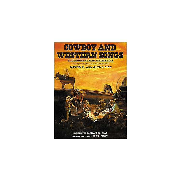 Creative Concepts Cowboy and Western Songs Guitar Tab Songbook