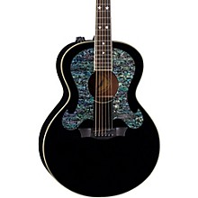 Dean Craig Wayne Boyd Solid Top Gloss Black Acoustic-Electric Guitar