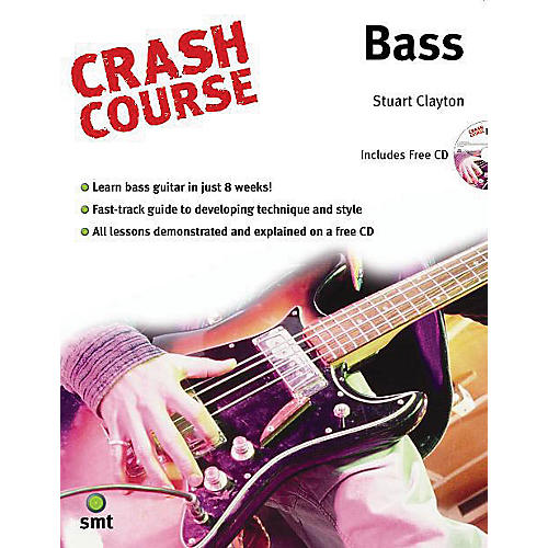 Music Sales Crash Course - Bass Music Sales America Series Softcover with CD Written by Stuart Clayton-thumbnail
