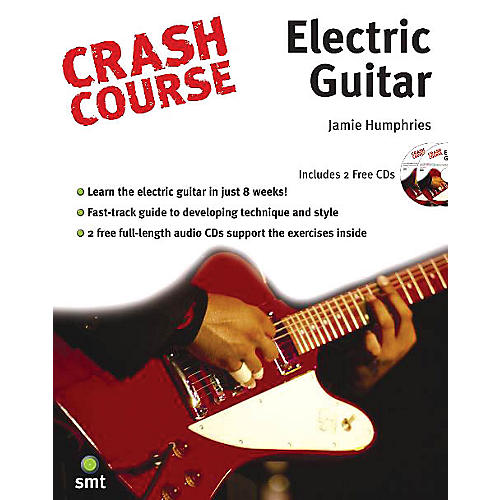 Music Sales Crash Course - Electric Guitar Music Sales America Series Softcover with CD Written by Jamie Humphries-thumbnail