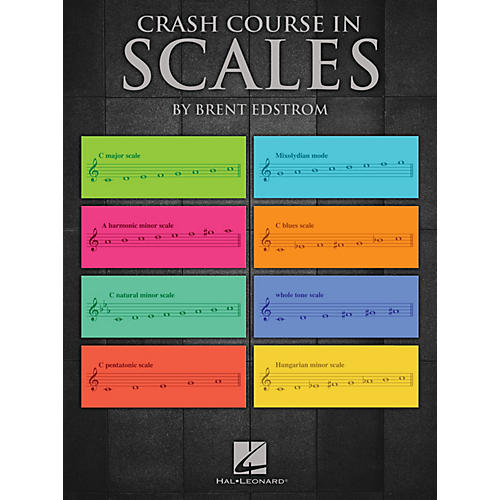 Hal Leonard Crash Course in Scales Educational Piano Library Series Softcover Written by Brent Edstrom-thumbnail