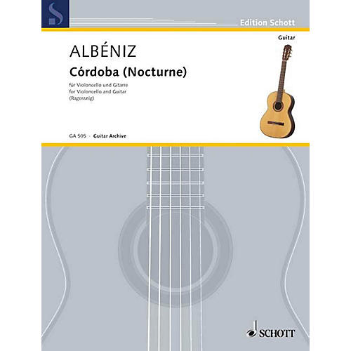 Schott Córdoba (Nocturne) from Chants d'España, Op. 232 Schott Series-thumbnail