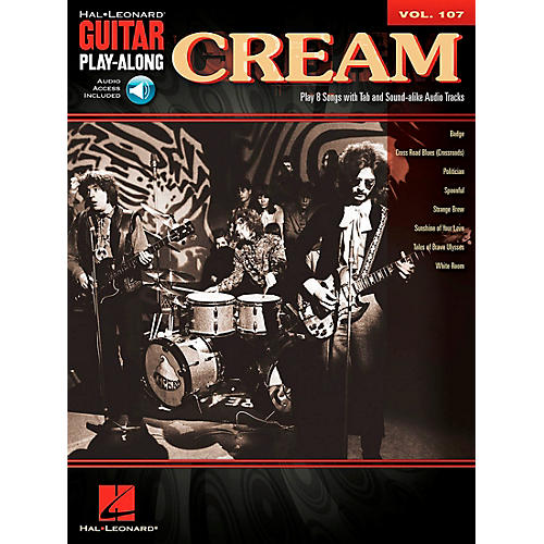 Hal Leonard Cream - Guitar Play-Along Volume 107 (Book/CD)