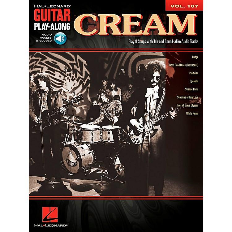 Hal LeonardCream - Guitar Play-Along Volume 107 (Book/CD)