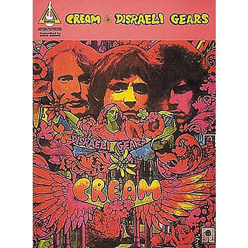 Hal Leonard Cream Disraeli Gears Guitar Tab Songbook