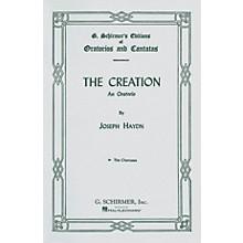 G. Schirmer Creation (Chorus Parts) SATB Score composed by Franz Josef Haydn