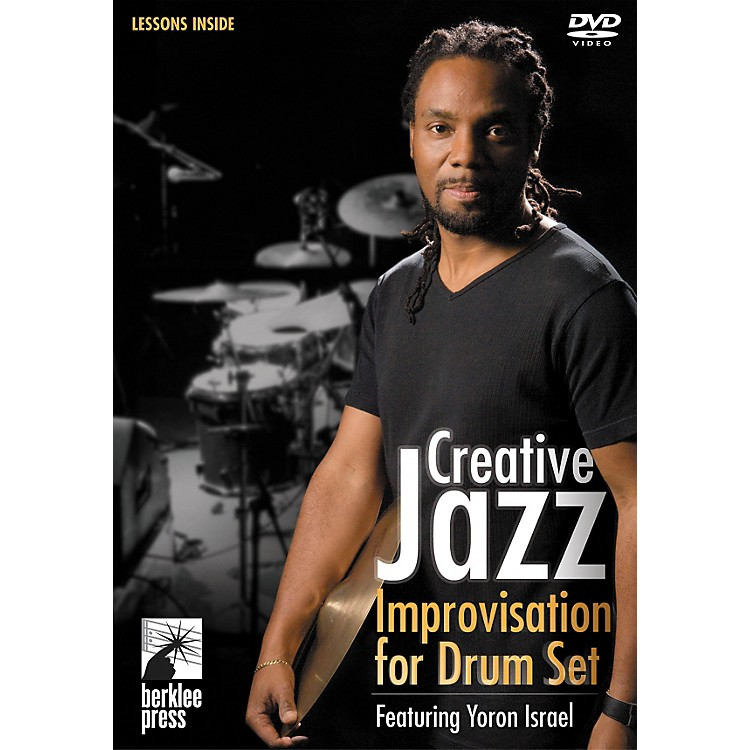 Berklee Press Creative Jazz Improvisation for Drum Set DVD with Yoron Israel