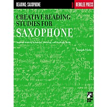 Berklee Press Creative Reading Studies for Saxophone Woodwind Method Series