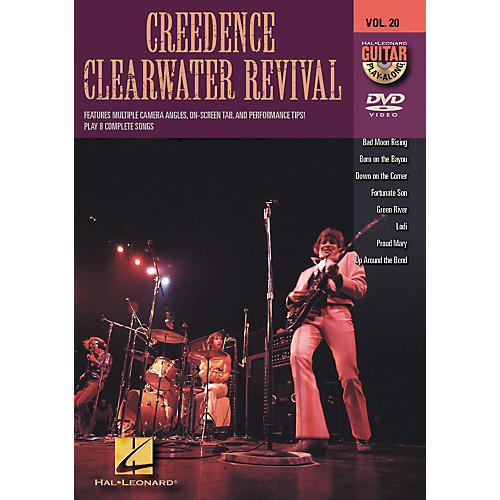 Hal Leonard Creedence Clearwater Revival - Guitar Play-Along DVD, Volume 20