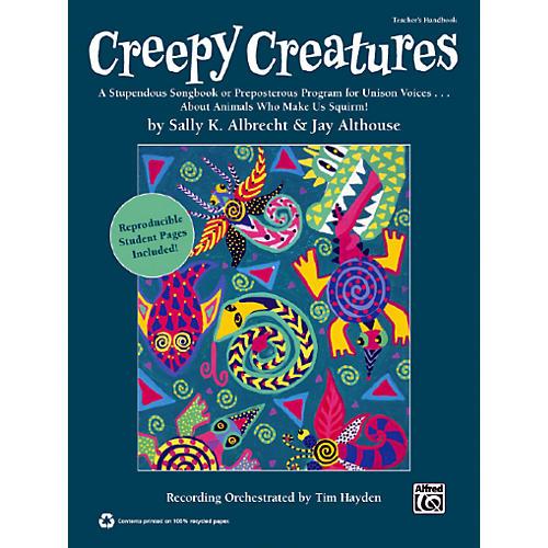 Alfred Creepy Creatures Book & CD-thumbnail