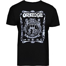 Orange Amplifiers Crest T-Shirt Black XXX Large