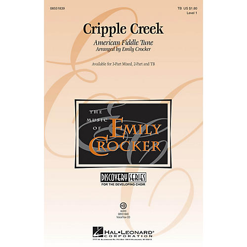 Hal Leonard Cripple Creek VoiceTrax CD Arranged by Emily Crocker-thumbnail