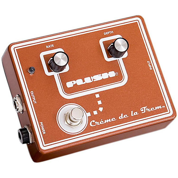 Plush Crème De La Trem Tremolo Guitar Effects Pedal