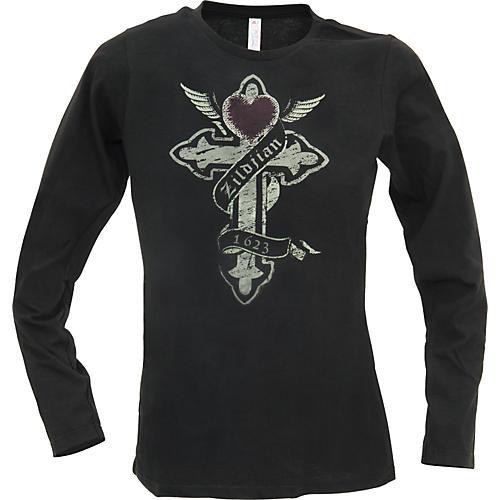 Zildjian Cross Women's Long Sleeve Shirt