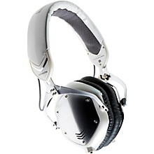 V-MODA Crossfade M-100 Over-Ear Noise-Isolating Metal Headphone Level 1 White Silver