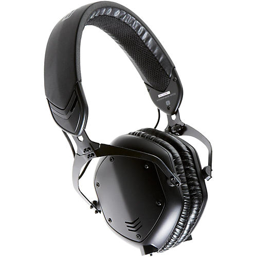 V-MODA Crossfade M-100 Over-Ear Noise-Isolating Metal Headphone Matte Black