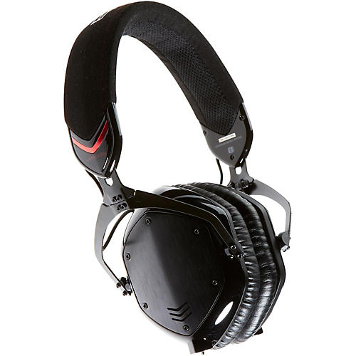 V-MODA Crossfade M-100 Over-Ear Noise-Isolating Metal Headphone Shadow