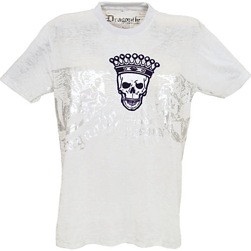 Dragonfly Clothing Company Crowned Skull Men's T-Shirt