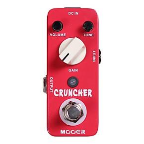 mooer cruncher high gain distortion guitar effects pedal musician 39 s friend. Black Bedroom Furniture Sets. Home Design Ideas
