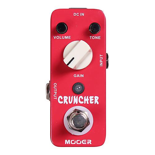 Mooer Cruncher High Gain Distortion Guitar Effects Pedal-thumbnail