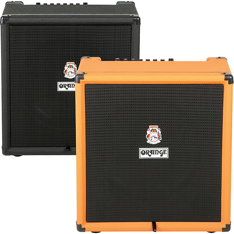Orange Amplifiers Crush PiX Bass Series CR100BXT 100W 1x15 Bass Combo Amp Black