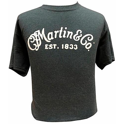 Martin Crushed T-shirt Large Black