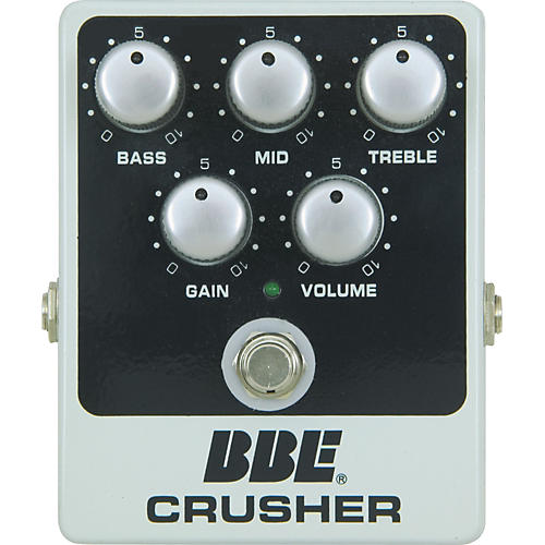 BBE Crusher Distortion Effect Pedal