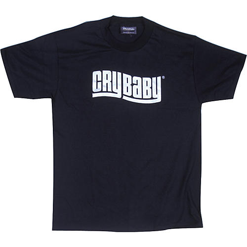 Dunlop Cry Baby T-Shirt Black Large