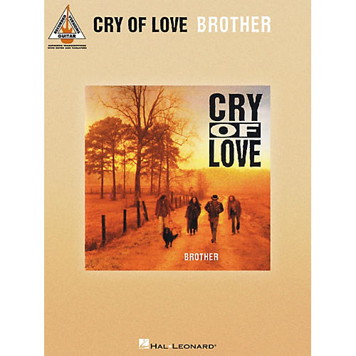 Hal Leonard Cry Of Love - Brother Guitar Tab Songbook-thumbnail