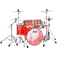 Pearl Crystal Beat 4-Piece New Fusion Shell Pack Ruby Red