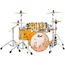 Pearl Crystal Beat 4-Piece New Fusion Shell Pack Tangerine Glass