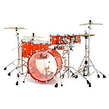 Pearl Crystal Beat 5-Piece Shell Pack Ruby Red