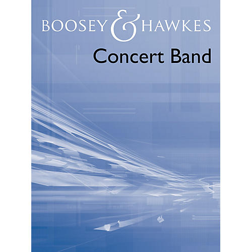 Boosey and Hawkes Crystal March Full Score Band Concert Band Composed by Bob Lowden
